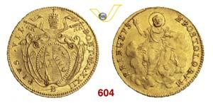 PIO VII  (1800-1823)  Doppia A. XXII ...
