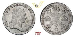 AUSTRIA  FRANCESCO II  (1792-1835)  Crocione ...