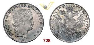 AUSTRIA  FERDINANDO I  (1835-1848)  Tallero ...