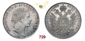 AUSTRIA  FRANCESCO GIUSEPPE I  (1848-1866)  ...