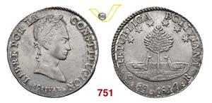 BOLIVIA  REPUBBLICA  (1825-...)  8 Soles ...