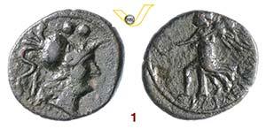 APULIA - Caelia    (22-150 a.C.)  Sestante.  ...