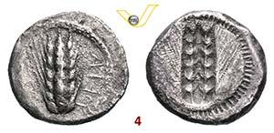 LUCANIA - Metapontum    (470-440 a.C.)  ...
