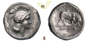 LUCANIA - Thurium    (350-300 a.C.)  ...