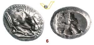 LUCANIA - Velia    (535-465 a.C.)  Dracma.  ...