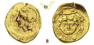 SICILIA - Syracusae    (406 a.C.)  10 Litre. ...