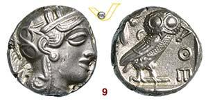 ATTICA - Atene    (435-425 a.C.)  ...