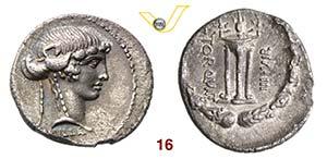 MANLIA - L. Manlius Torquatus  (65 a.C.)  ...