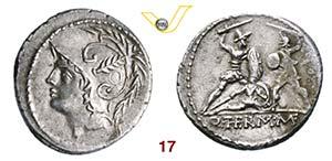 MINUCIA - Q. Minucius Thermus M.f.  (103 ...