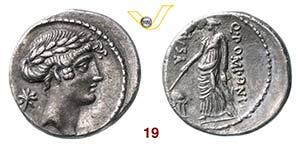 POMPONIA - Q. Pomponius Musa  (66 a.C.)  ...
