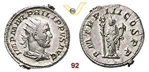 FILIPPO I LARABO  (244-249)  Antoniniano.  ...