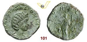 SALONINA  (moglie di Gallieno)  Sesterzio.  ...