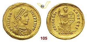 TEODOSIO I  (379-395)  Solido, ...