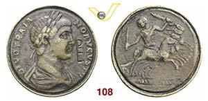 CONTORNIATI  (IV-V Sec. d.C.)  D/ Busto ...