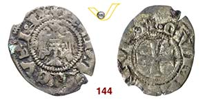 COMO  COMUNE, a nome di Enrico VII  (Sec. ...