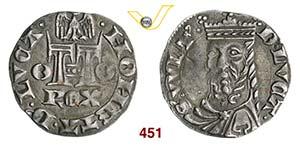 LUCCA  REPUBBLICA  (1319)  Grosso aquilino.  ...