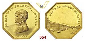 NAPOLEONE I, Console  (1799-1804)  Medaglia ...