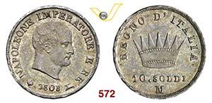 NAPOLEONE I, Imperatore  (1804-1814)  10 ...