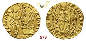 SENATO ROMANO  (1350-1439)  Ducato al tipo ...