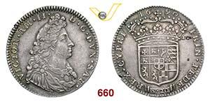 VITTORIO AMEDEO II  (1675-1713)  Lira 1690.  ...