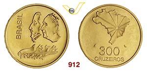 BRASILE      300 Cruzeiros 1972.   Fb. 126   ...
