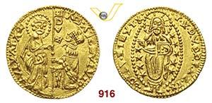 CHIO  LA MAONA  (1347-1533 circa)  Zecchino ...