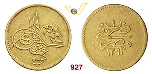 EGITTO  ABDUL HAMID II  (1876-1909)  50 ...