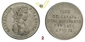 MILANO  REPUBBLICA CISALPINA  (1800-1802)  ...