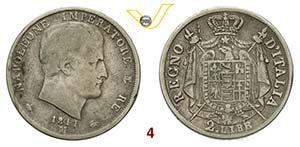 MILANO  NAPOLEONE I, Imperatore  (1804-1814) ...