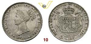PARMA  MARIA LUIGIA  (1814-1847)  2 Lire ...