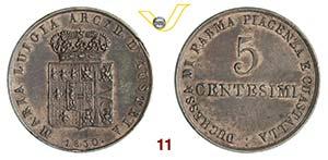 PARMA  MARIA LUIGIA  (1814-1847)  5 ...