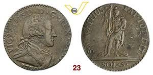 SAVOIA  VITTORIO AMEDEO III  (1773-1796)  5 ...