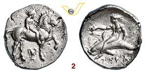CALABRIA - Tarentum    (380-340 a.C.)  ...
