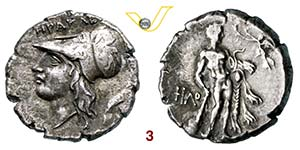 LUCANIA - HERACLEA    (276-250 a.C.)  ...