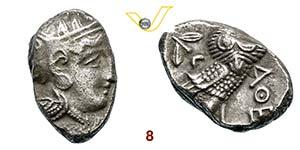 ATTICA - ATENE    (353-294 a.C.)  ...