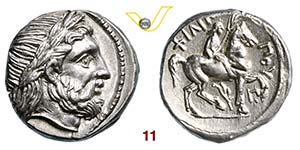 MACEDONIA - AMOPHIPOLIS  FILIPPO II  ...