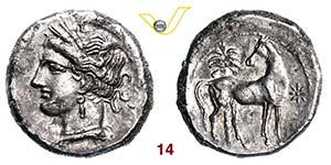 ZEUGITANIA - CARTAGINE    (300 a.C. circa)  ...