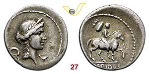 AEMILIA - M. Aemilius Lepidus  (61 a.C.)  ...