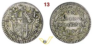 BOLOGNA - GOVERNO POPOLARE  (1796-1797)  ...