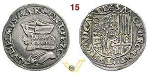 CASALE - GUGLIELMO II PALEOLOGO  (1494-1518) ...