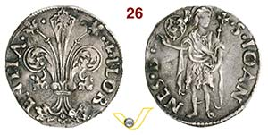 FIRENZE - REPUBBLICA  (1189-1532)  Grosso da ...