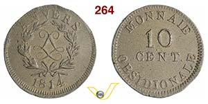 BELGIO - NAPOLEONE I  (1804-1814)  10 ...