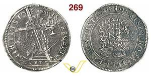 ITALIA -   (1629-1630)  Scudo primo s.d.  D/ ...