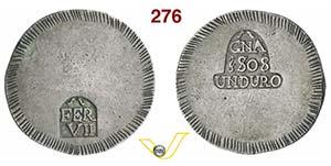 SPAGNA - FERDINANDO VII  (1808-1833)  Duro ...