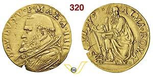 PAOLO V  (1605-1621)  Quadrupla A. III, ...