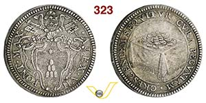 ALESSANDRO VII  (1655-1667)  Giulio s.d., ...