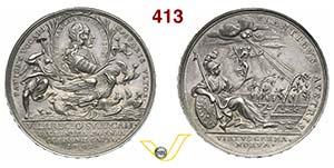 VITTORIO AMEDEO II  (1680-1730)  Med. 1702 ...