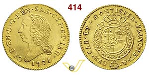 CARLO EMANUELE III  (1730-1773)  Mezza ...