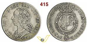 CARLO EMANUELE III  (1730-1773)  Scudo da 6 ...