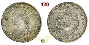 VITTORIO AMEDEO III  (1773-1796)  Quarto di ...